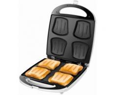 Sandwich-Toaster Quadro 48480 weiß, Unold