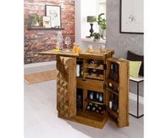 Home affaire Hausbar/ Barschrank »Natalie« beige, FSC®-zertifiziert
