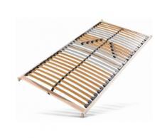 Lattenrost »Medistar« beige, Kopf- und Fußteil verstellbar, 70x200cm, FSC®-zertifiziert, Beco