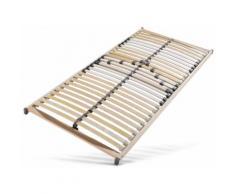 Lattenrost, bis 120 kg, nicht verstellbar, 5 Zonen, 100x200cm, »Christian«, Breckle