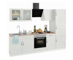 Küchenzeile »Lund« weiß, Held Möbel