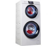 Waschtrockner HWD120-B1558U weiß, Energieeffizienzklasse: A, Haier
