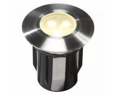Garden Lights LED-Bodenleuchte Alpha Edelstahl 4048601
