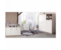 JustYou24 JUSTyou Ralph Kinderzimmer-Set mit Funktionsbett Weiß