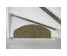 Tapijtkeuze Stufenmatten San Salvador - 65x24x4 cm - Beige-Anthrazit
