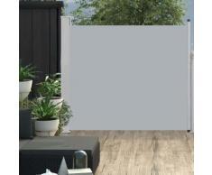 vidaXL Ausziehbare Seitenmarkise 100x300 cm Grau