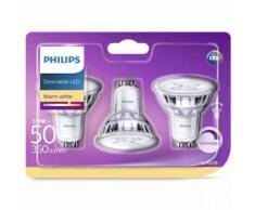 Philips LED-Lampen 3 Stk. Classic 5,5 W 350 Lumen 929001364186