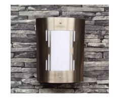 Meisterhome LED Garten Gartenleuchte Außenlampe Wandlampe Edelstahl