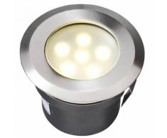 Garden Lights LED-Bodenleuchte Sirius Edelstahl 4039601