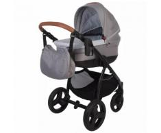 Bo Jungle B-Zen 4-in-1 Kombi-Kinderwagen/ Buggy Hellgrau B700505
