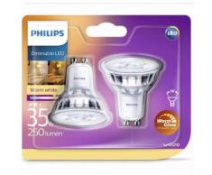 Philips LED-Lampen 2 Stk. Classic 4 W 250 Lumen 929001363831