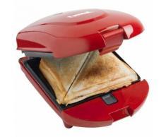 Bestron 3in1 Snackmaker Sandwichtoaster Waffle Maker 520W Rot ADM2003R