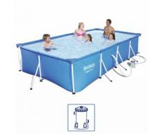 Bestway Steel Pro Swimming Pool-Set Stahlrahmen 400x211x81 cm 56424