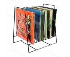VDD LP Vinyl Design Lagerregal Plattenregal für 50 bis 60 Vinyl-LPs von