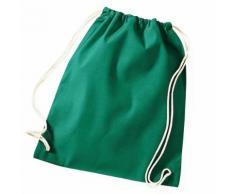 TRIBALSENSATION Schnre Gym Bag aus Baumwolle - 46x36cm - Fitnessraum, Schwimmbad, Sp