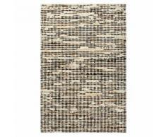 vidaXL Teppich Echtes Kuhfell 120×170 cm Schwarz/Weiß