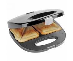 Bestron Sandwichtoaster Sandwichgerät 700 W Schwarz ASM108Z