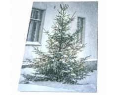 Victoria's Design House Victoria's Design Platte LED Canvas Weihnachtsbaum 30x40cm