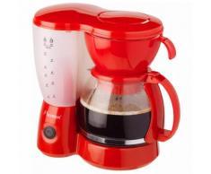 Bestron Kaffeemaschine Rot 800W ACM6081R
