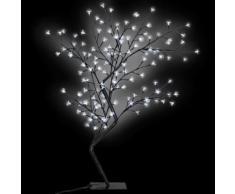 vidaXL Weihnachtsbaum LED Weißes Licht Kirschblüte 120 cm