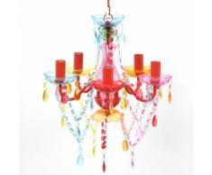 VidaXL Acryl Kronleuchter Multi Farben