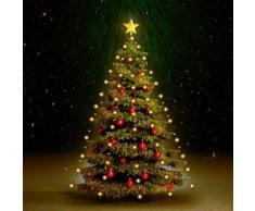 vidaXL Weihnachtsbaum Lichternetz 150 LEDs Indoor/Outdoor IP44 150 cm