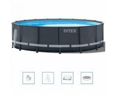 Intex Ultra XTR Frame Swimmingpool-Set Rund 488 x 122 cm 26326GN