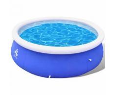vidaXL Schwimmbecken Planschbecken Schwimmbad Pool A