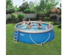 Bestway Fast Set Aufblasbarer Swimmingpool Rund 457x122 cm 57289