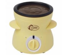 Bestron DCM043 Kompaktes Schokoladenfondue/Schmelztopf 25 W