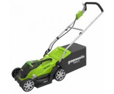 Greenworks Rasenmäher G40LM35 ohne 40 V-Akku 2501907