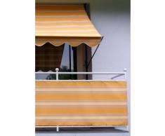 ANGERER FREIZEITMÖBEL Balkonsichtschutz , Meterware, beige-orange gestreift