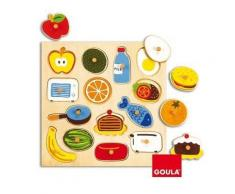 """Goula Holzpuzzle """"In & Out"""", 14 Teile"""