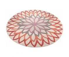 Teppich, rund, ESPRIT, »Lotus Flower«, handgetuftet