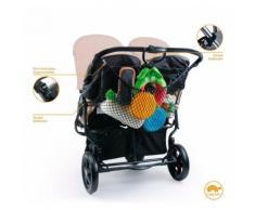DIAGO XL Einkaufsnetz für Kinderwagen