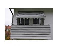 Balkonsichtschutz anthrazit/grau (in 2 Höhen)