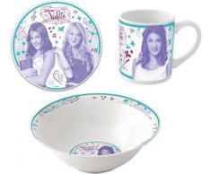 Kindergeschirr Violetta 3-tlg., Keramik
