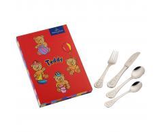 Kinderbesteck 4tlg. »Teddy«