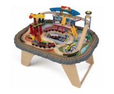 KidKraft® Eisenbahn Spieltisch, »Transportstation Eisenbahnset & Spielplatte«