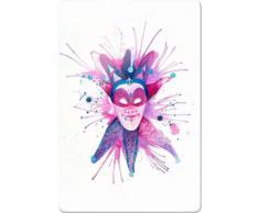 INOSIGN Glasbild »Buttafly - Mardi Gras Mask«, 40/60 cm