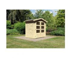 KARIBU Gartenhaus »Bellantis«, BxT: 186x125 cm, 19 mm, natur