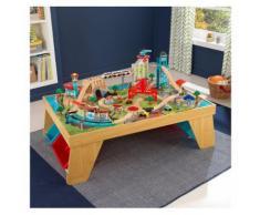 KidKraft® Spieltisch Eisenbahn aus Holz, »Aerocity«