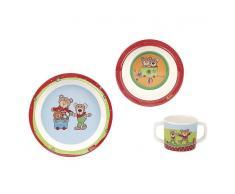 sigikid® Kindergeschirr Set, »Wild & Berry Bear«