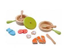 EverEarth® Holzspielzeug, »Topf und Pfannenset«