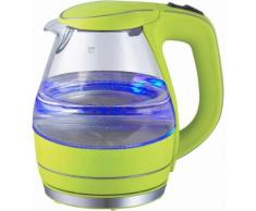 TEAM KALORIK Design Glas-Wasserkocher JK1022AG, 1,5 Liter, 2200 Watt