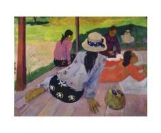 Artland Poster oder Leinwandbild »Menschen Gruppen & Familien Malerei Bunt«
