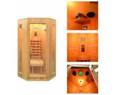 Home Deluxe Infrarotkabine »Nova«, 100/100/200 cm, 40 mm, für bis zu 2 Personen