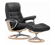 Stressless® Set: Relaxsessel mit Hocker »Opal« mit Signature Base, Größe L, mit Schlaffunktion