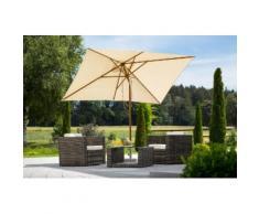 SCHNEIDER SCHIRME Sonnenschirm »Malaga«, 300x200 cm, ohne Schirmständer