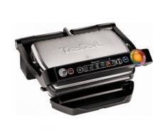 Tefal Elektrogrill GC730D Optigrill, Smart mit App-Steuerung, 2000 Watt, 6 voreing. Grillprogramme, schwarz